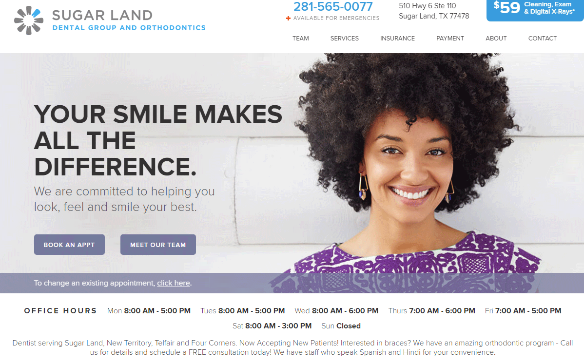 Dental Website #1