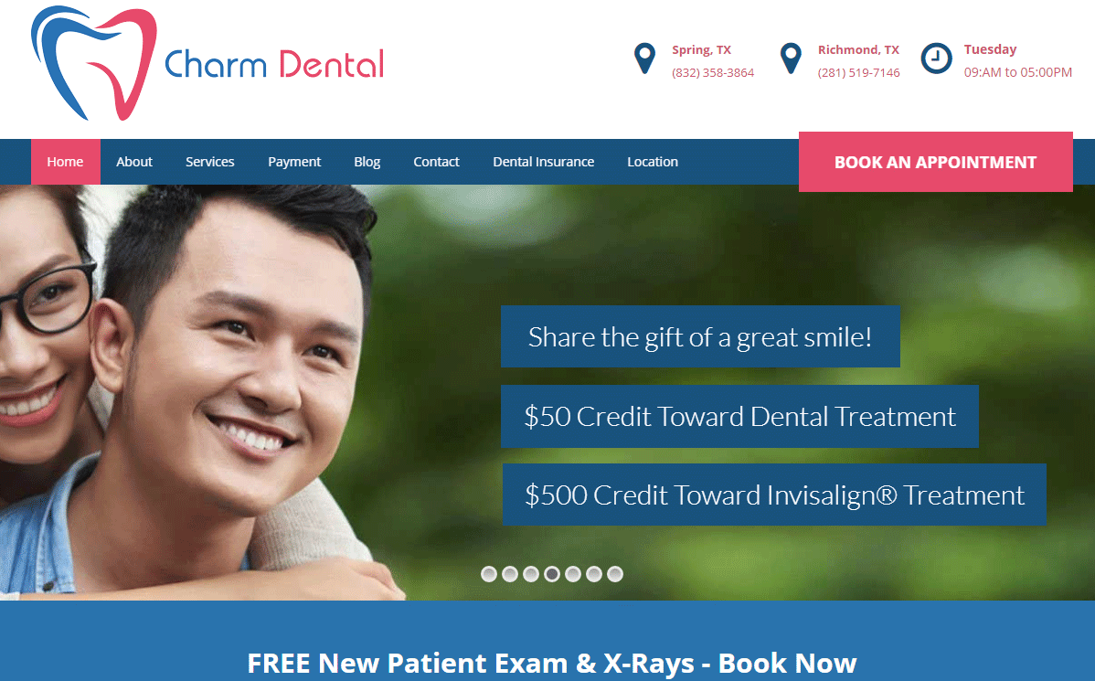 Dental Website #2