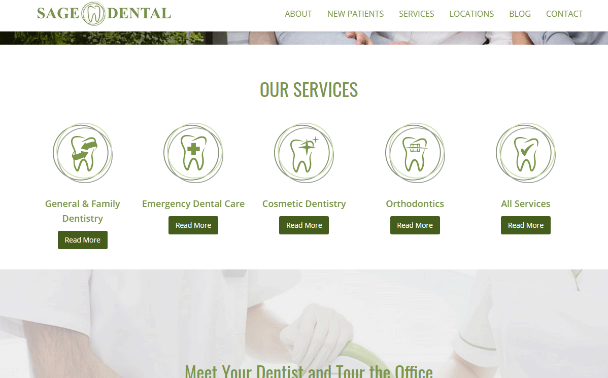 Dental Website #5