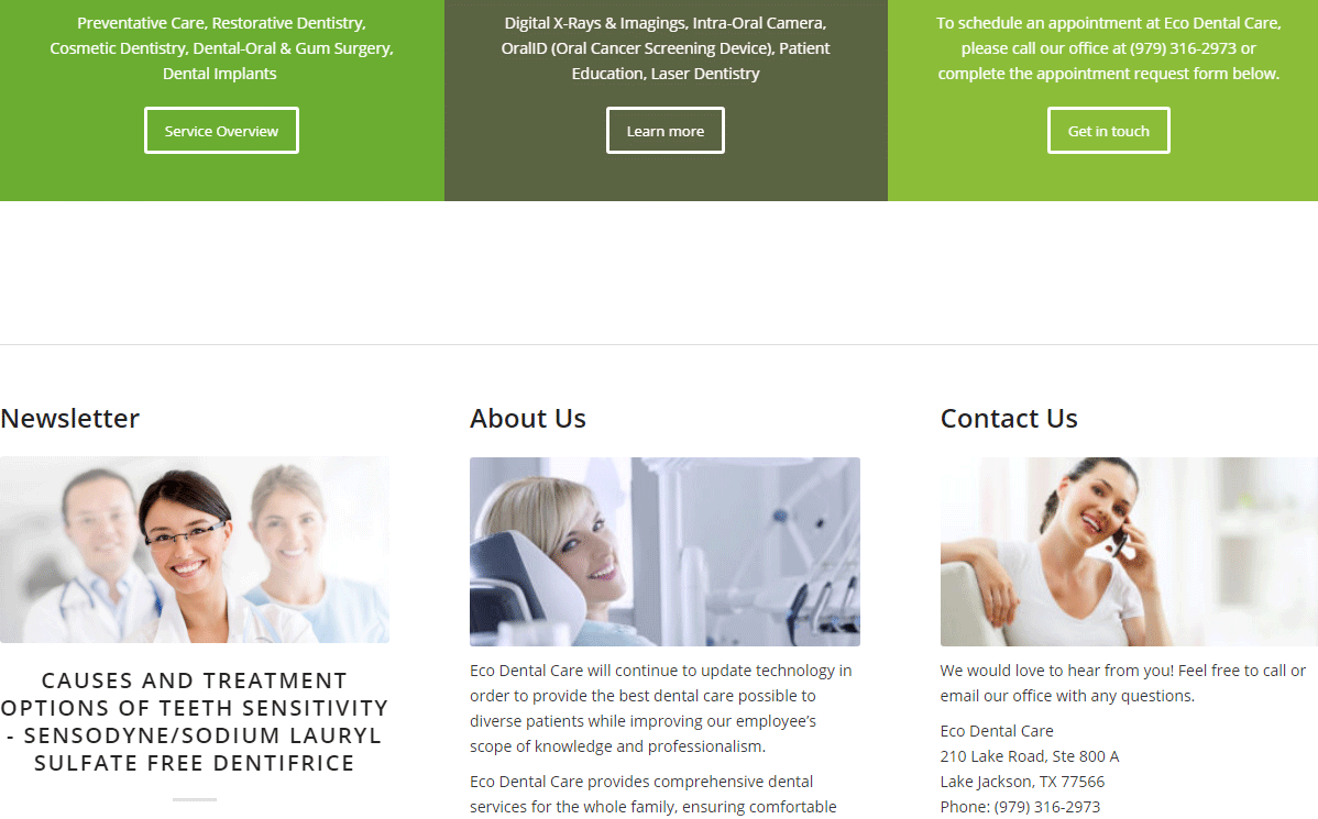 Dental Website #9